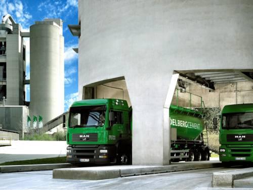 Zementverladung bei der HeidelbergCement AG