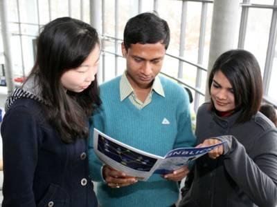 Studenten der Universität Oldenburg