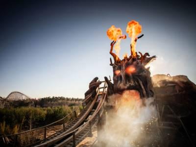 Colossos - Kampf der Giganten - Achterbahn im Heide Park Resort