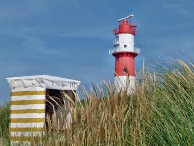 Kleiner Leuchtturm auf Borkum