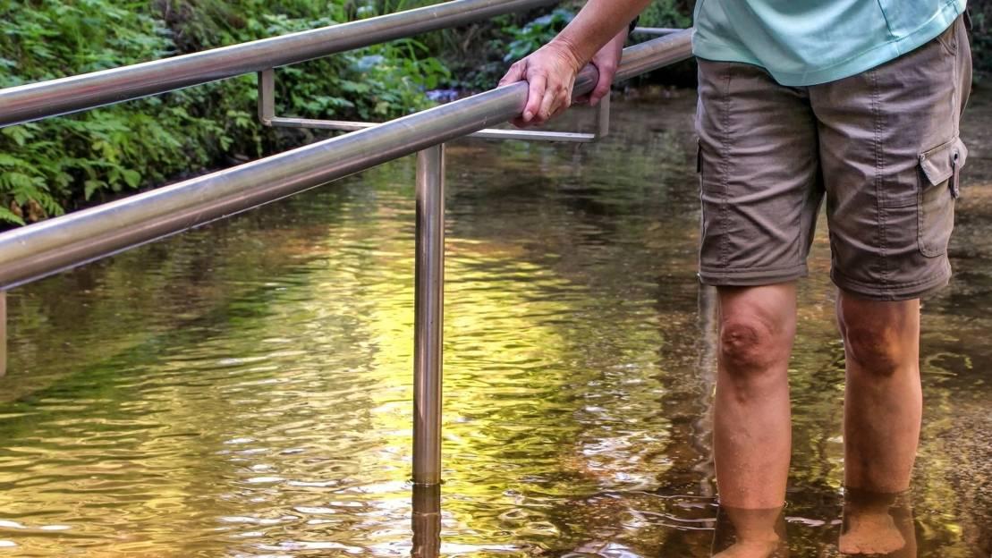Kneipp Wassertreten