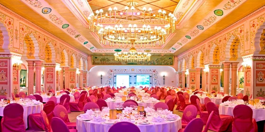Prunksaal des Maharadscha