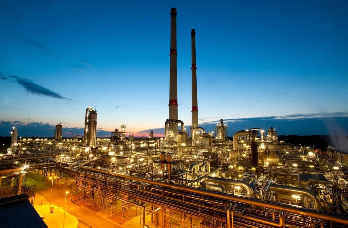 ExxonMobil Erdgasaufbereitungsanlage im Landkreis Oldenburg