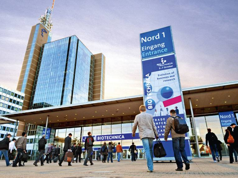 Entrance Hannover Fairground