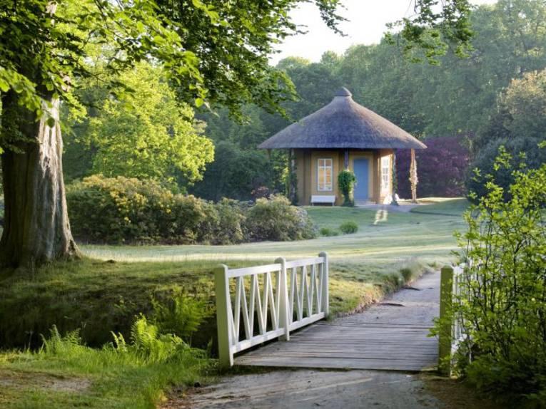 Freundschaftstempel im Schlosspark Luetetsburg