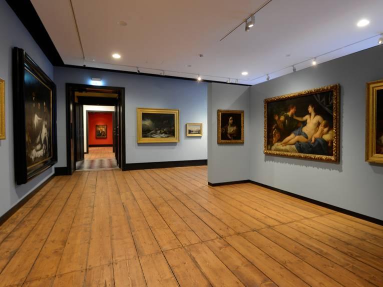 Augusteum Raumaufnhame Internationaler Barock Landesmuseum für Kunst und Kulturgeschichte Oldenburg