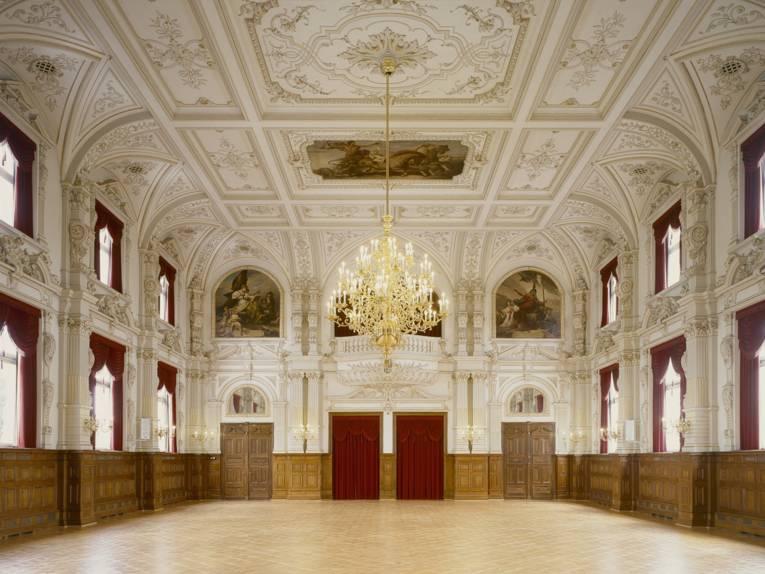 Schlosssaal im Oldenburger Schloss Landesmuseum für Kunst und Kulturgeschichte Oldenburg