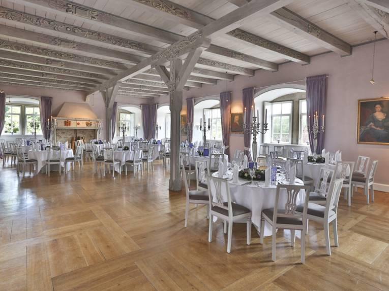 Wasserschloss Hülsede Rittersaal