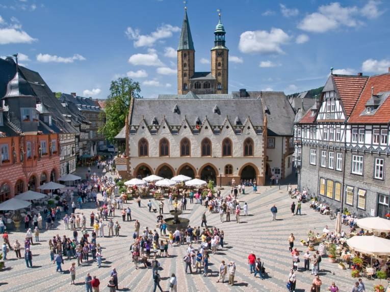 Marktplatz von Goslar
