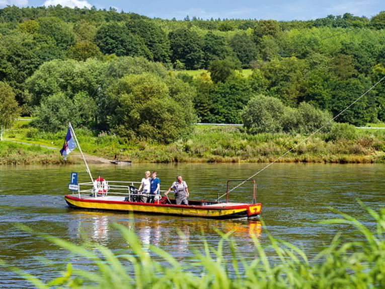 Weser im Kreis Höxter