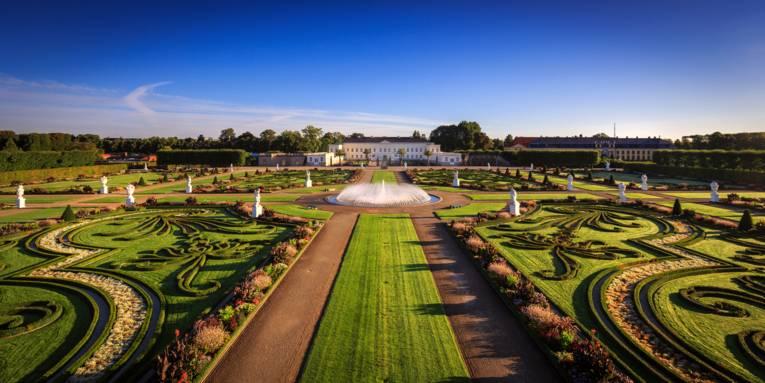 Großer Garten mit Schloss Herrenhausen