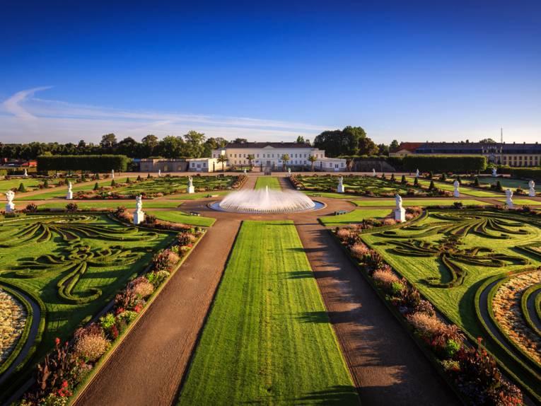 Herrenhäuser Gärten - eine der beliebtesten Sehenswürdigkeit in Niedersachsen