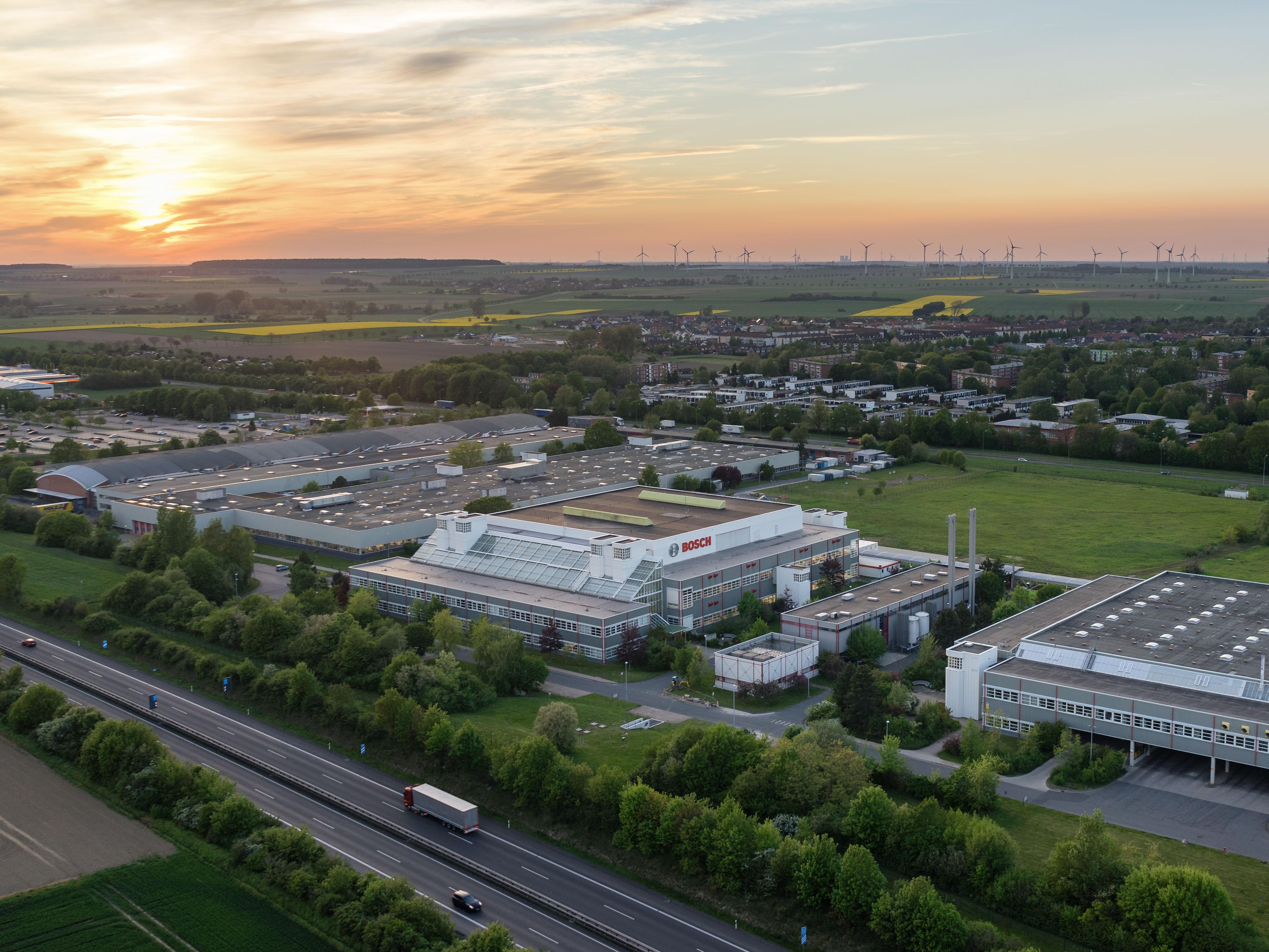 Bosch, Fabrik, Salzgitter, Luftbild