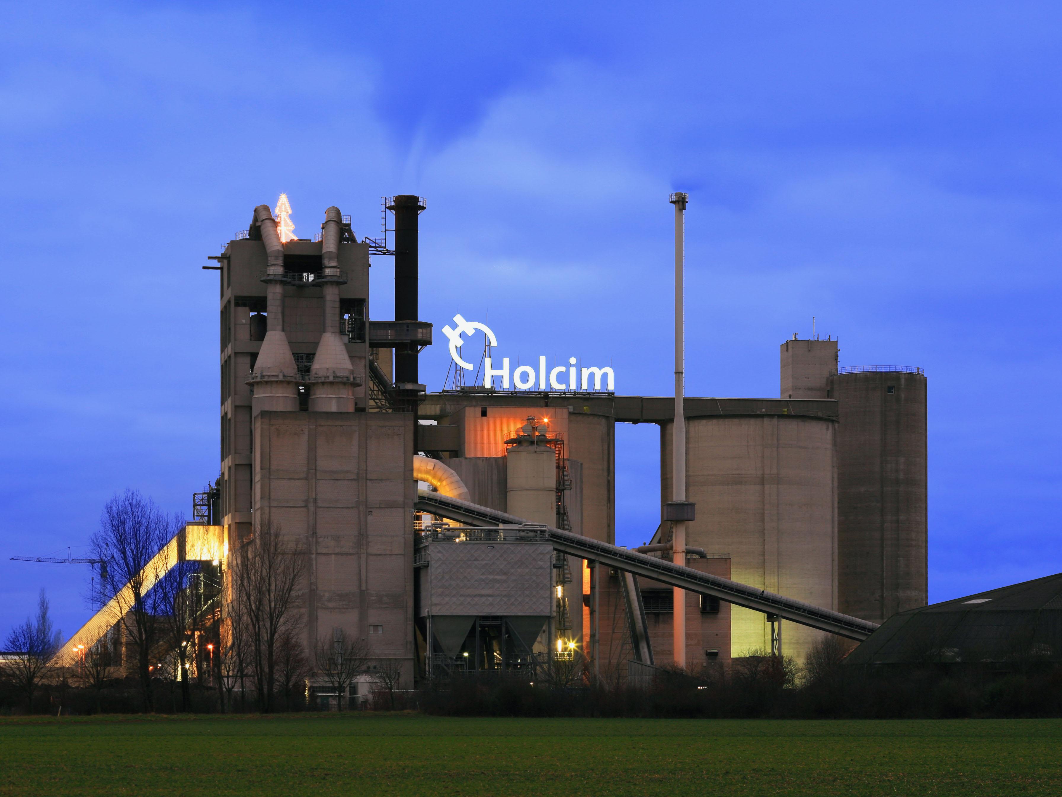 Holcim-Zementwerk Höver