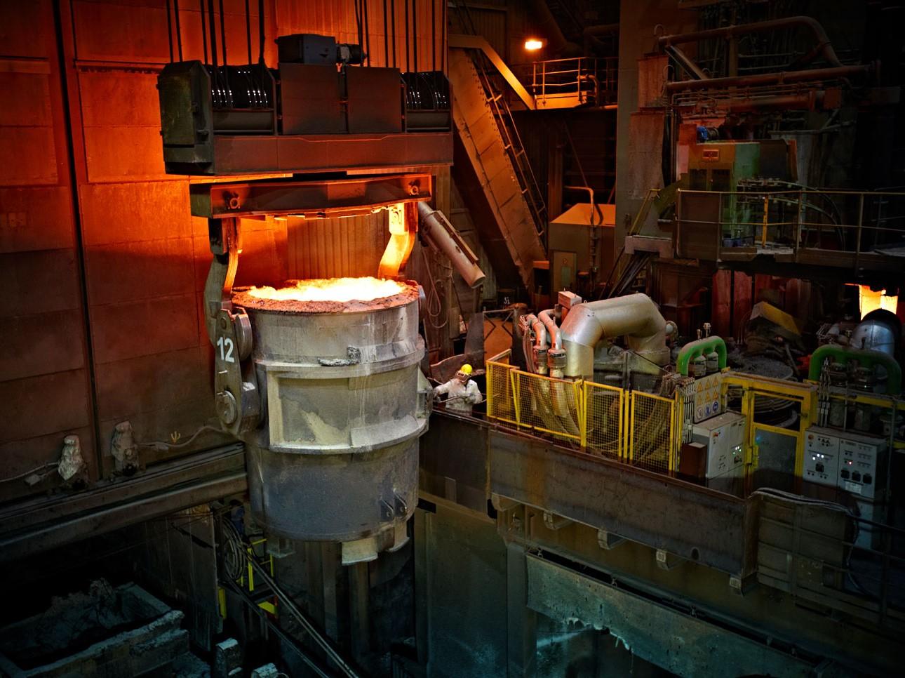 BENTELER Steel/Tube International-Werk in Lingen (Ems).