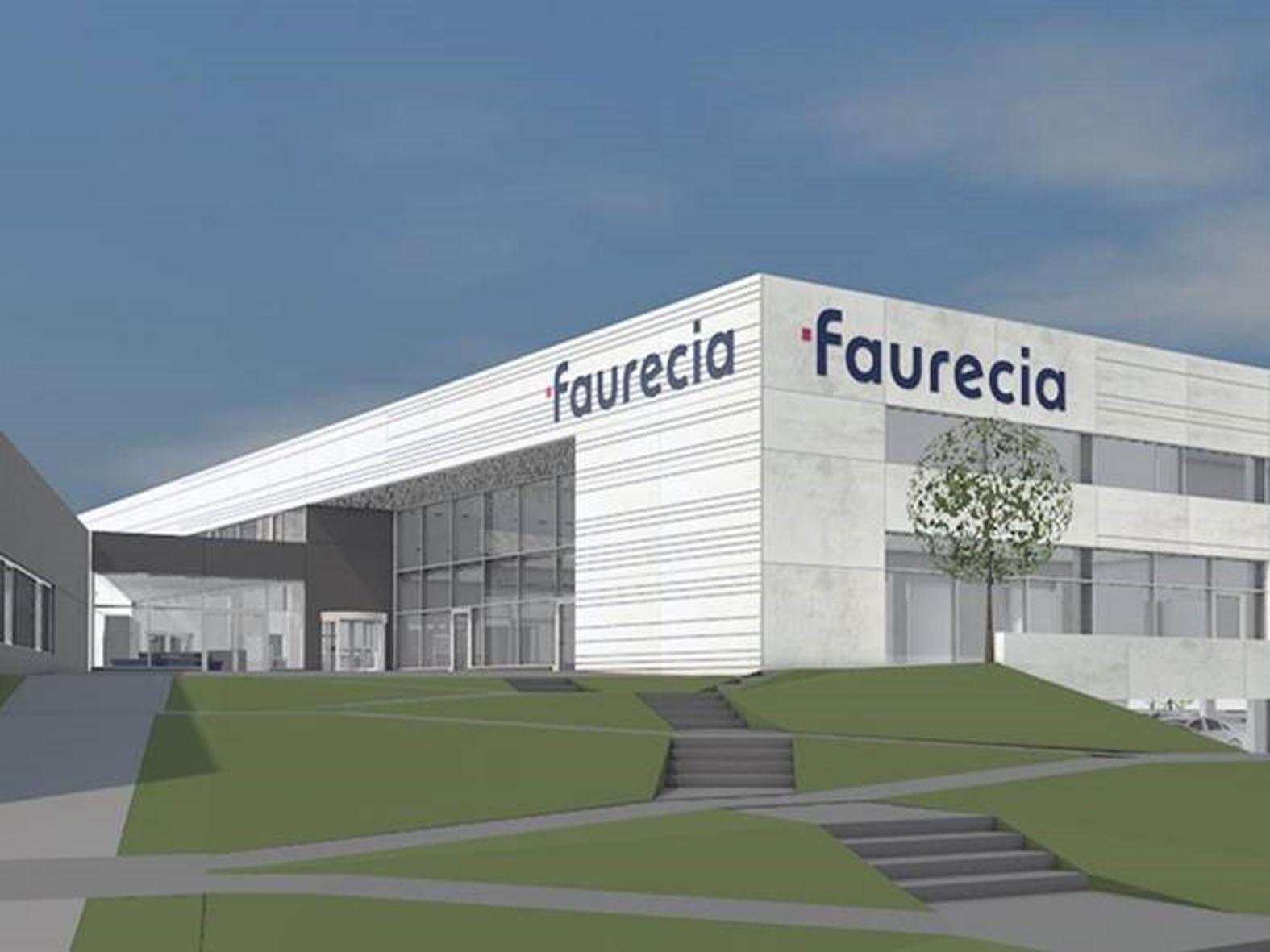 Hauptsitz von Faurecia in Hannover (Animation)