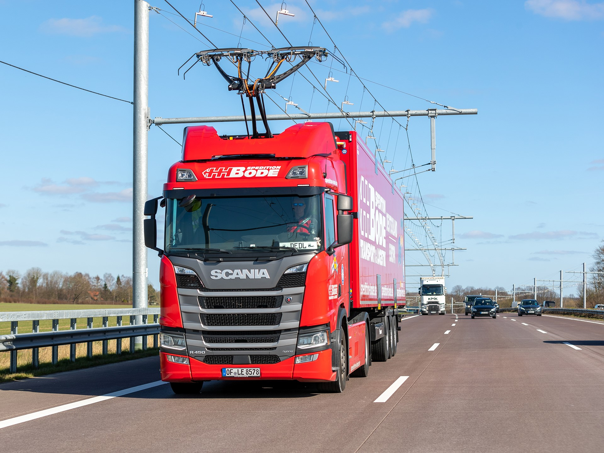 Siemens eHighway in Schleswig-Holstein